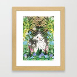 In the Midnight Garden Framed Art Print