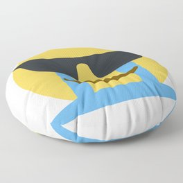 Sob Sunglasses Emoji Floor Pillow