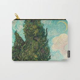 Cypresses by Vincent van Gogh Carry-All Pouch
