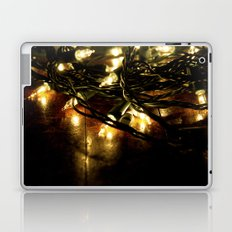 white lights - christmas Laptop & iPad Skin