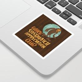 Guthrie Sasquatch Appreciation Club Sticker Art Sticker