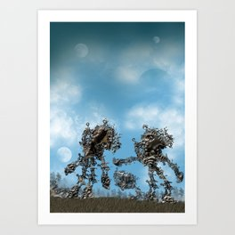 Post Battle Compassion Art Print