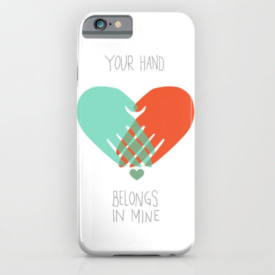 I wanna hold your hand iPhone & iPod Case