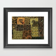 flodsam Framed Art Print