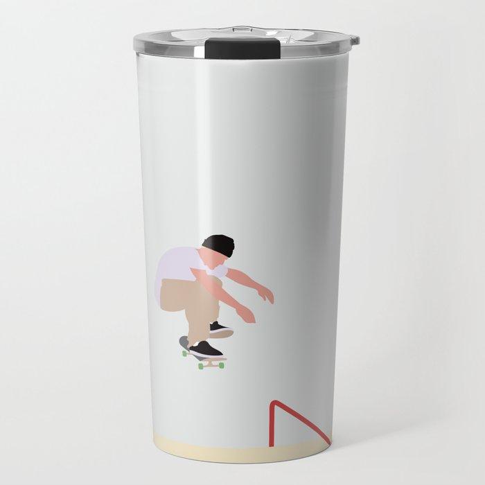 Skateboarding Travel Mug By Swenswenson Society6