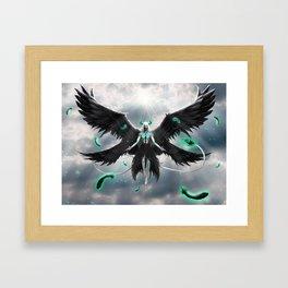 Tormenta De Murcielago Framed Art Print