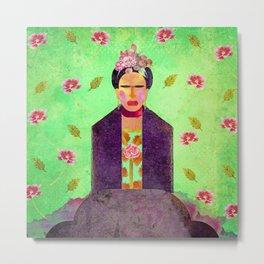 Frida Kahlo´s Dreams Metal Print