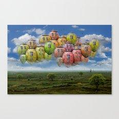 Himmelsreisen ! Canvas Print