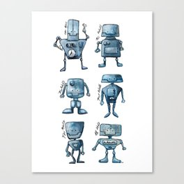 We Are All Robots Canvas Print