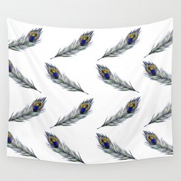 The Peacock's Feather Pattern Wall Tapestry