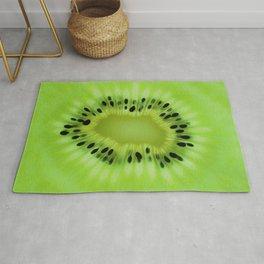 Kiwi fruit pattern Rug