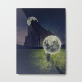 Moon Dealer Metal Print