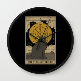 The Wheel of Fortune Wall Clock