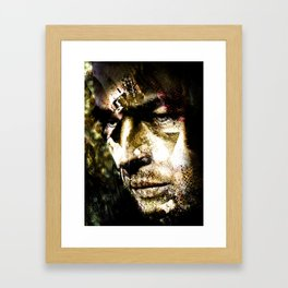 Todd's Mask Framed Art Print