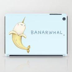 Banarwhal iPad Case