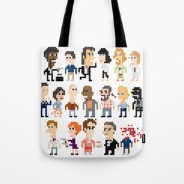 Pulp Fiction Iotacons Tote Bag