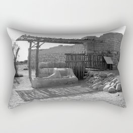 Be'er Sheba Well Rectangular Pillow