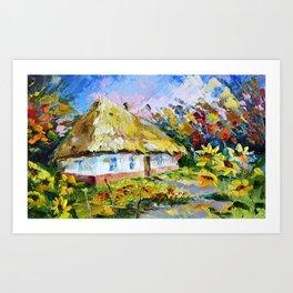 Country house # 2 Art Print