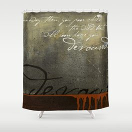 Breadcrumbs: Snow White and the Seven Dwarfs Shower Curtain