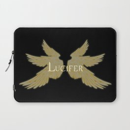 Lucifer with Wings Light Laptop Sleeve