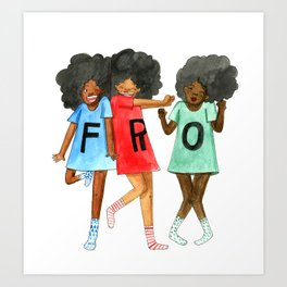 F.R.O. Art Print