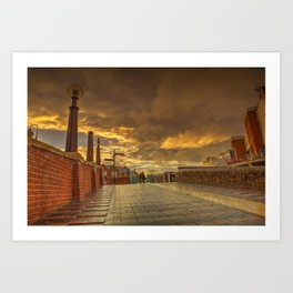 Quiet Conversations at Dusk Art Print