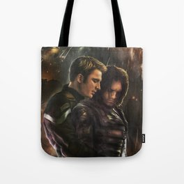 Cap and Bucky - Worth Fighting For Tote Bag