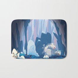 inside iceberg Bath Mat