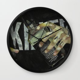 Hands & JD Wall Clock
