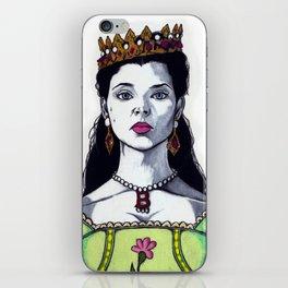 Anne Boleyn - The Tudors TV Character Art Print - Natalie Dormer iPhone Skin