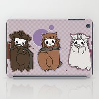 nori iPad Cases featuring Dwarpaca family #3 by Lady Cibia