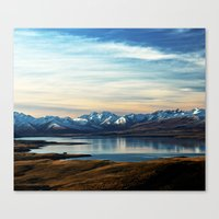 Canvas Prints featuring If Nobody Speaks // Landscape Mountains Photography by cadinera
