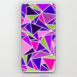 Pop Triangles iPhone Skin