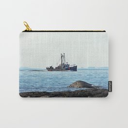 Fishing Close to Shore Carry-All Pouch