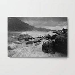 Sand Harbor, Lake Tahoe ... after the storm Metal Print