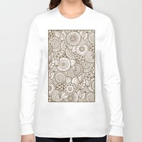 tribal Long Sleeve T-shirts featuring Tribal by Ale Ibanez