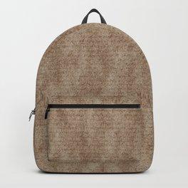 Scots Pine Paper Bag Sepia Backpack
