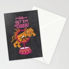 Go Get 'Em Tiger - Be Fierce Stationery Cards