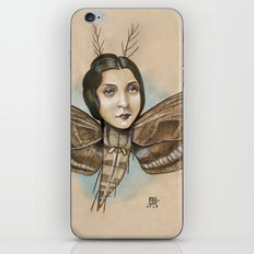 MOTH LADY iPhone Skin