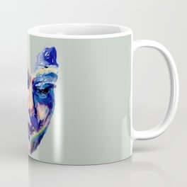 Face in Acrylic Coffee Mug