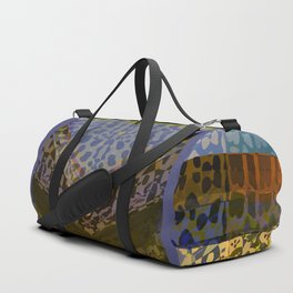 Animal Print Monica Duffle Bag