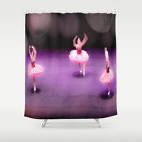 ballet Shower Curtains featuring Ballet by Tiffany Dawn Smith
