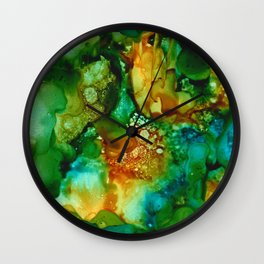 Emerald Impressions Wall Clock