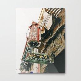 CHINATOWN XVIII Metal Print