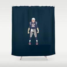 Pats - Tom Brady Shower Curtain