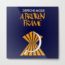 DM : A Broken Frame logo Metal Print