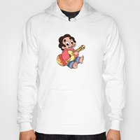 steven universe Hoodies featuring Steven Universe - Baby Steven  by BlacksSideshow