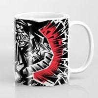 tiger Mugs featuring Tiger by Ali GULEC