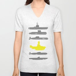 Know Your Submarines Unisex V-Neck