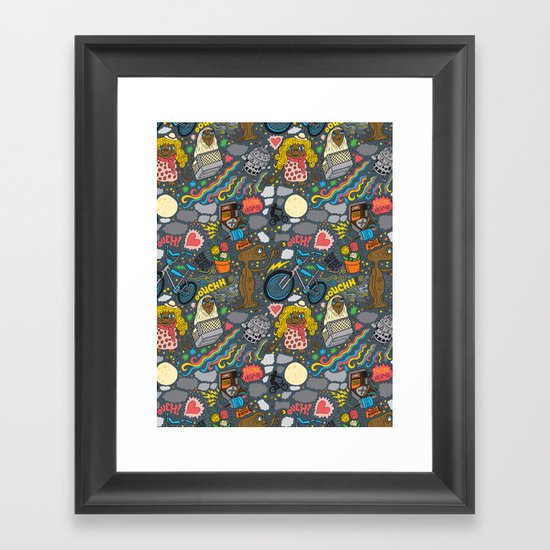 ET! Framed Art Print